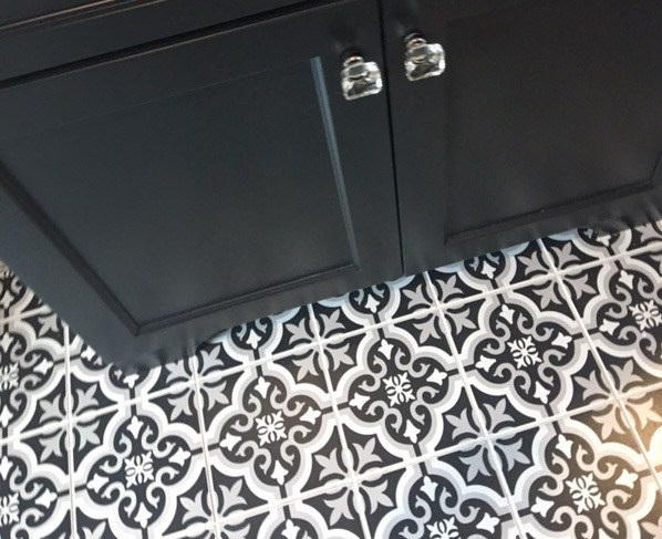 Patterned Floor Tiles |